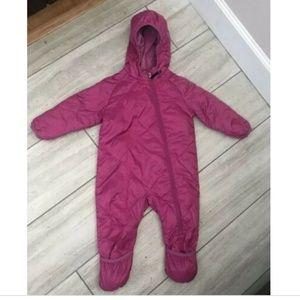 REI Baby Bunting Snowsuit Toddler Girls 18 Months